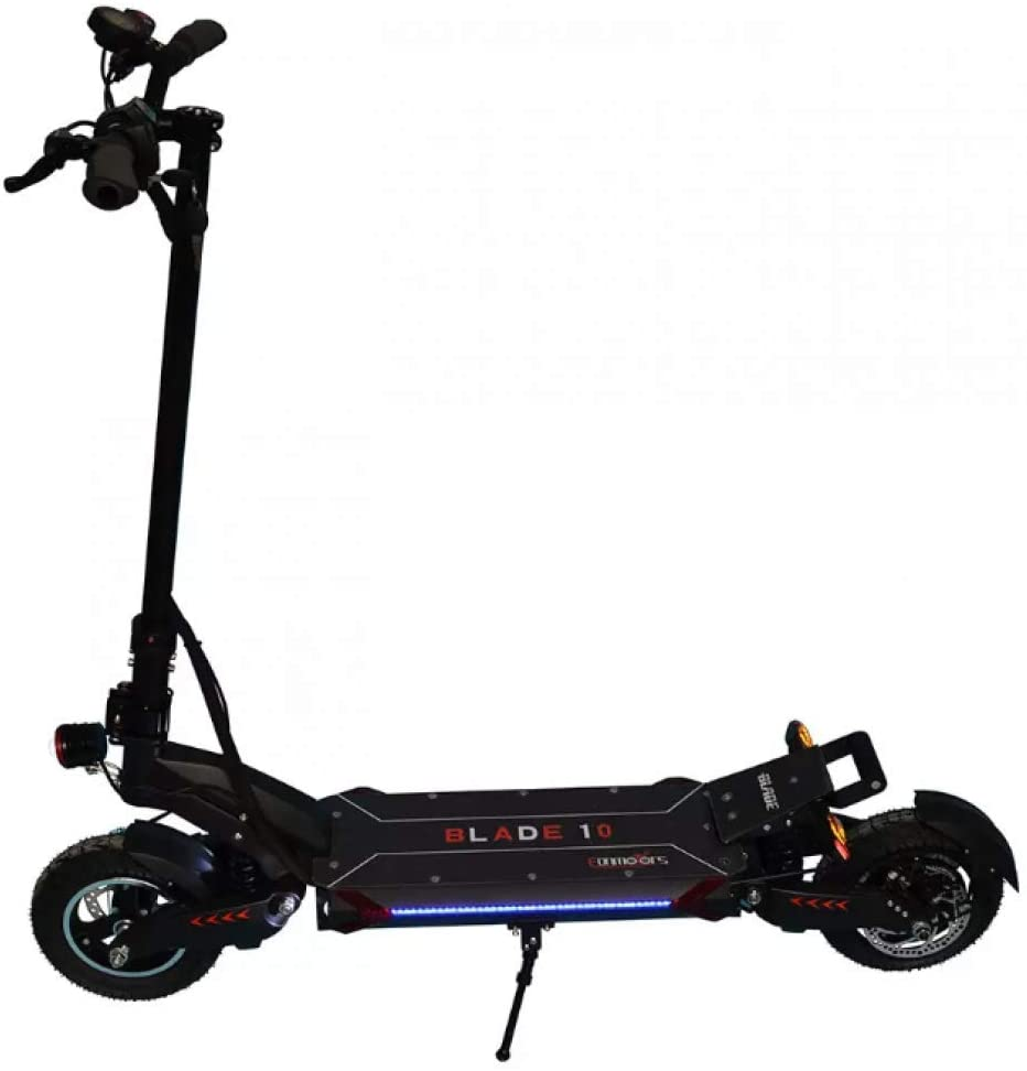 NO ONE 60V Blade 10D Scooter with Height Adjustable Front Stem