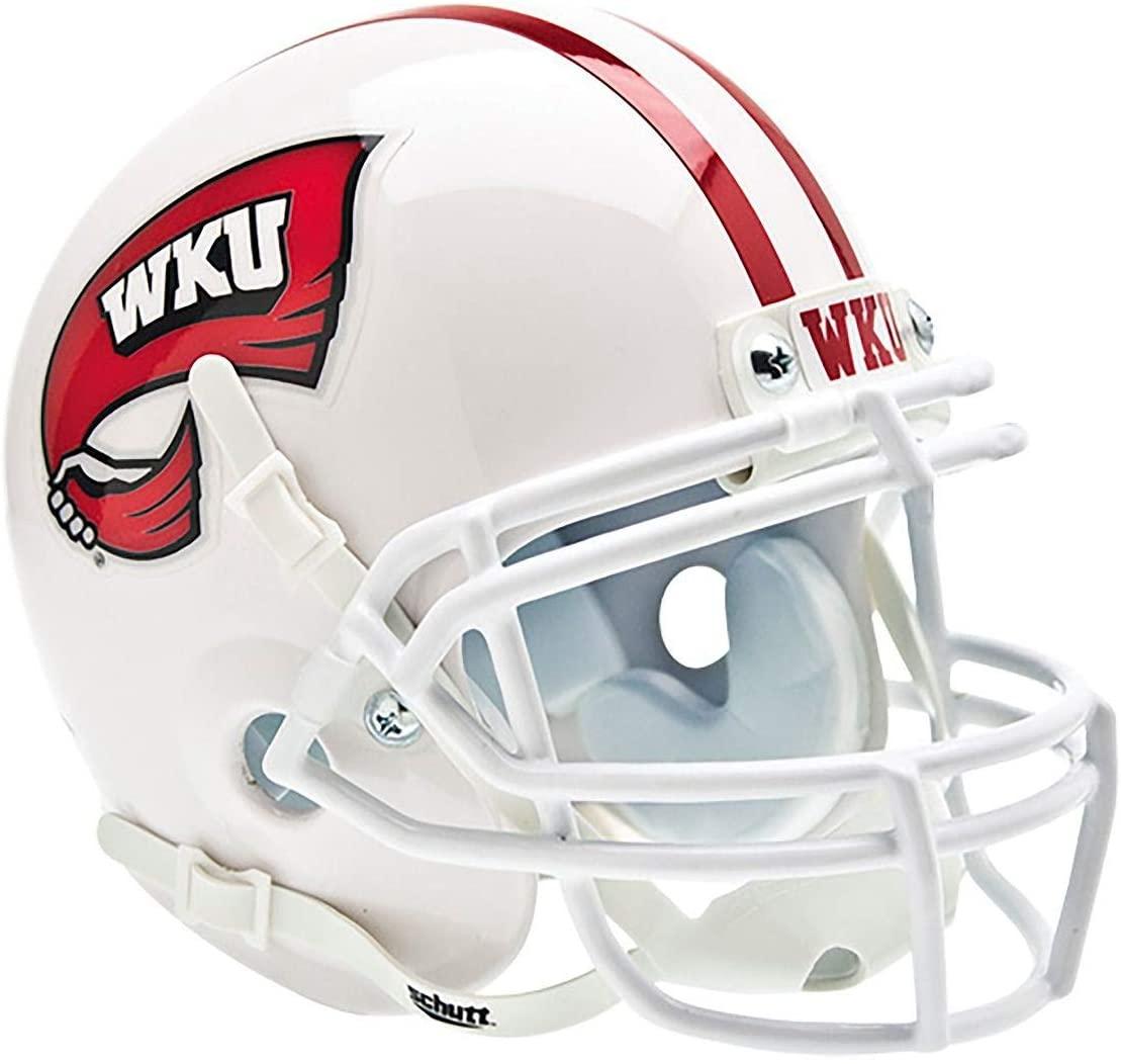 Schutt NCAA Western Kentucky Hilltoppers Replica XP Football Helmet