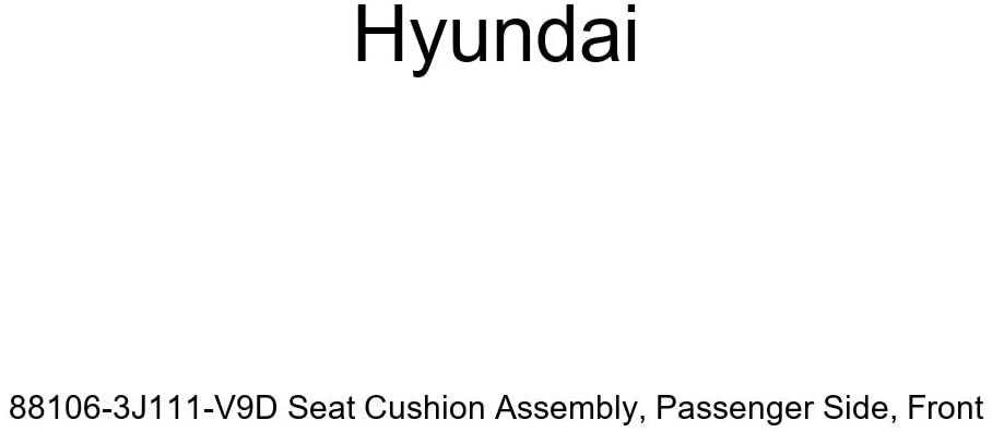 Genuine Hyundai 88106-3J111-V9D Seat Cushion Assembly, Passenger Side, Front