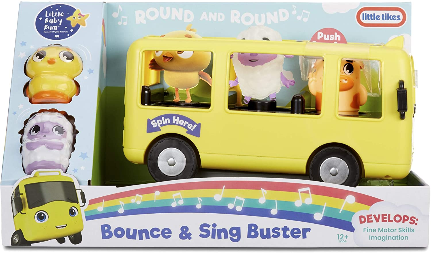 Little Tikes Baby Bum Bouncer & Sing Buster, Multicolor