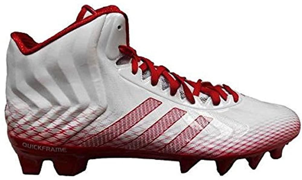 adidas Men's Crazyquick Mid Football Cleats