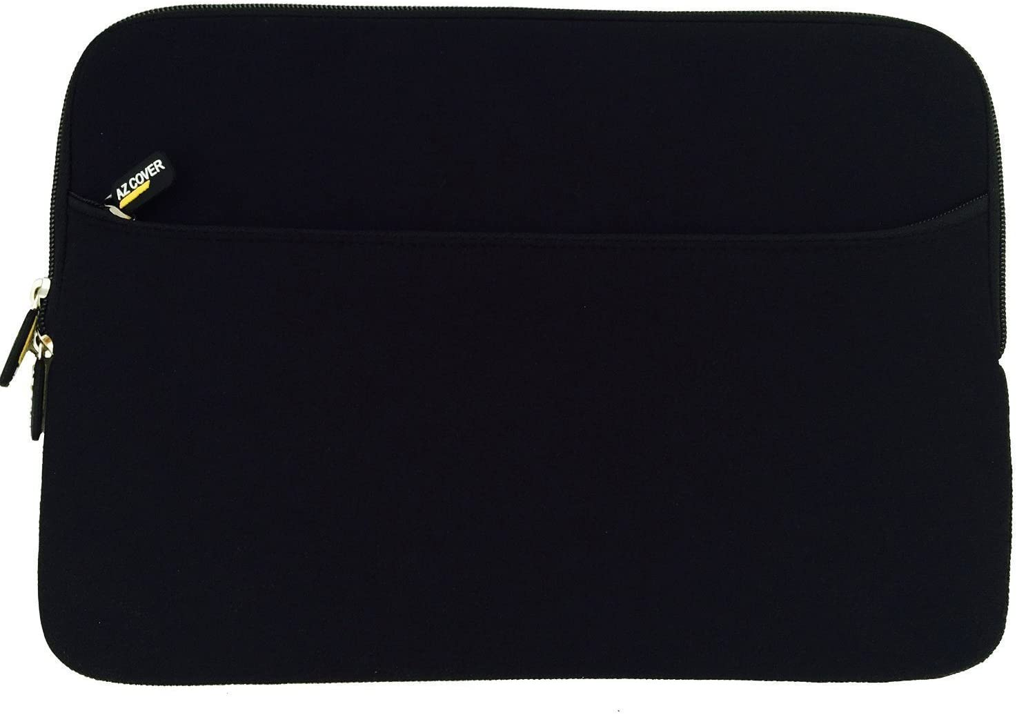 AZ-Cover 10.1-Inch Laptop Sleeve Case Bag (Black) With Pocket For Samsung Galaxy Note 10.1 inch N8000 Wifi 3G 16GB Phone Tablet + One Touchscreen Stylus Pen