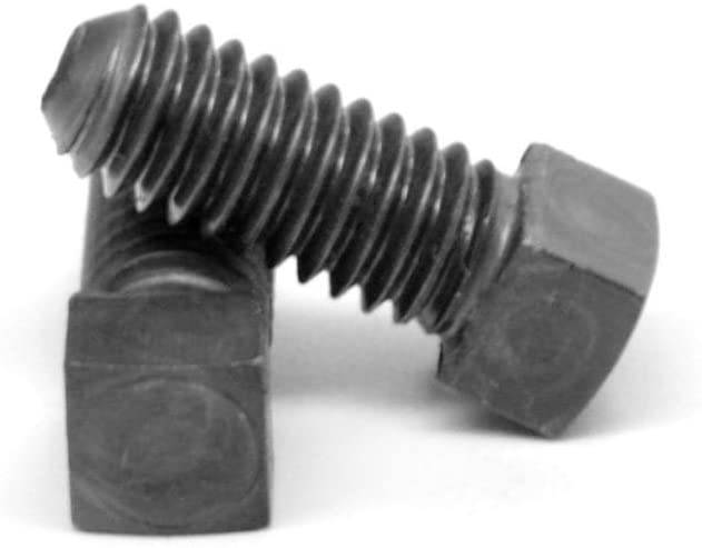 Square Head Set Screw, Cup Point, 7/16-14 x 5