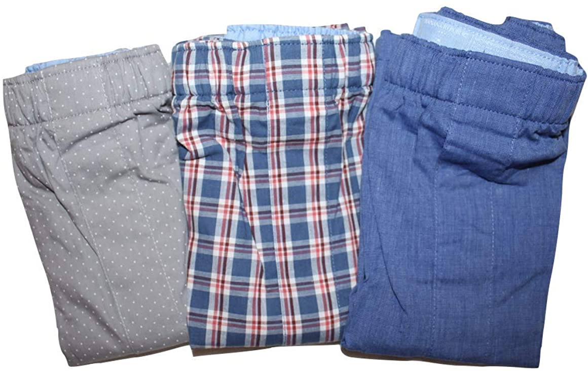 Banana Republic Men's 3-Pair Boxer Shorts (Medium 32-34