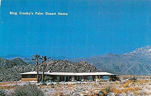 Actor, Movie Star Home Bing Crosby's Home Palm Desert, California USA Unused