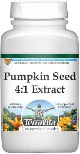 Extra Strength Pumpkin Seed 4:1 Extract Powder (1 oz, ZIN: 511232)