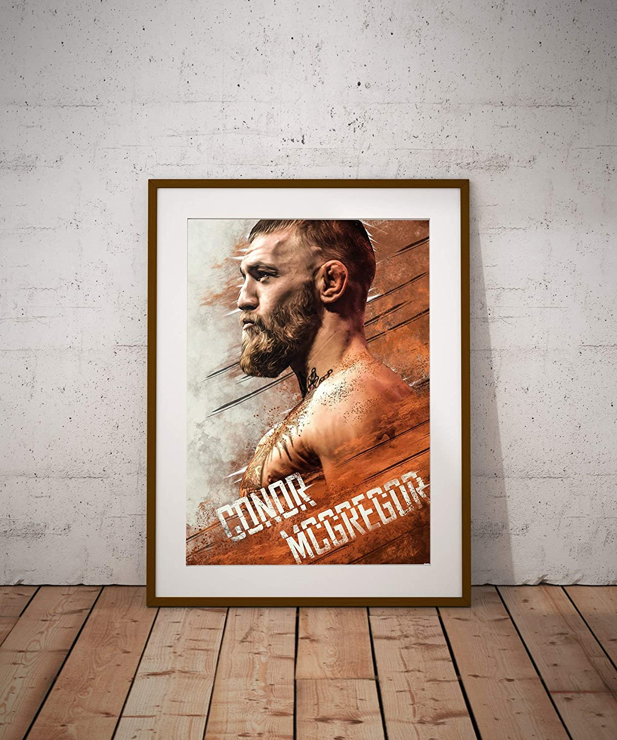Boxer Conor McGregor Poster Professional Boxing Poster Unframed Poster Print Art Poster Wall Art Print Gift Poster Canvas Printing Wall Decor Size - 11x17 18x24 24x32 24x36 (A4-8.5x11)