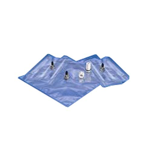 Saint Gobain D1075012-10 Chemware Bag for Gas/Liquid Sampling with On/Off Valve (Pack of 10)