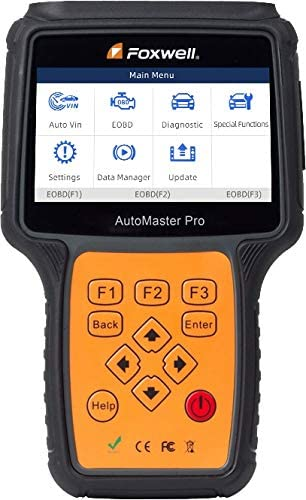 All Systems OBD2 Scanner for Smart Diagnostic Scan Tool Engine Transmission Airbag Foxwell NT680