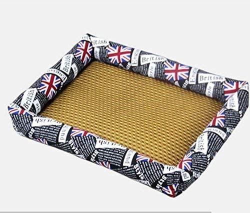 JFFFFWI Summer Cool Mat Dog Kennel Pet Bed Cat Litter Dog Supplies (L) for Cat/Dog