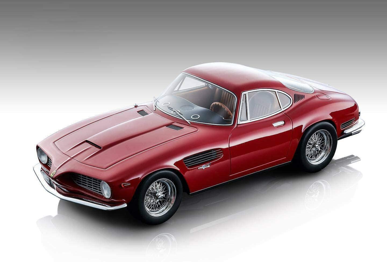 1962 Ferrari 250 GT SWB Bertone Gloss Red Mythos Series Limited Edition to 150 Pieces Worldwide 1/18 Model Car by Tecnomodel TM18-103 C