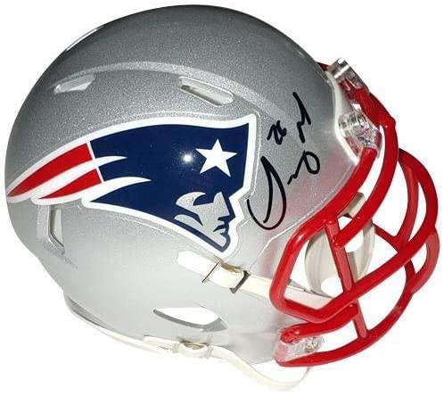 Sony Michel Autographed New England Patriots Mini Helmet – JSA - Autographed NFL Mini Helmets