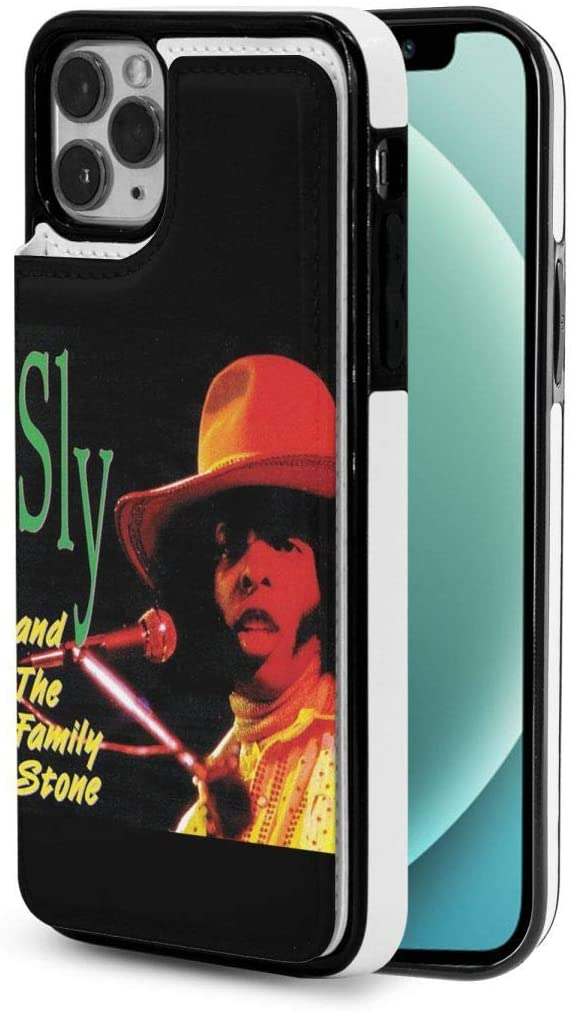 Sly and The Family Stone Fashion Flip Phone Case with Drop-Resistant Leather Wallet for Iphone12