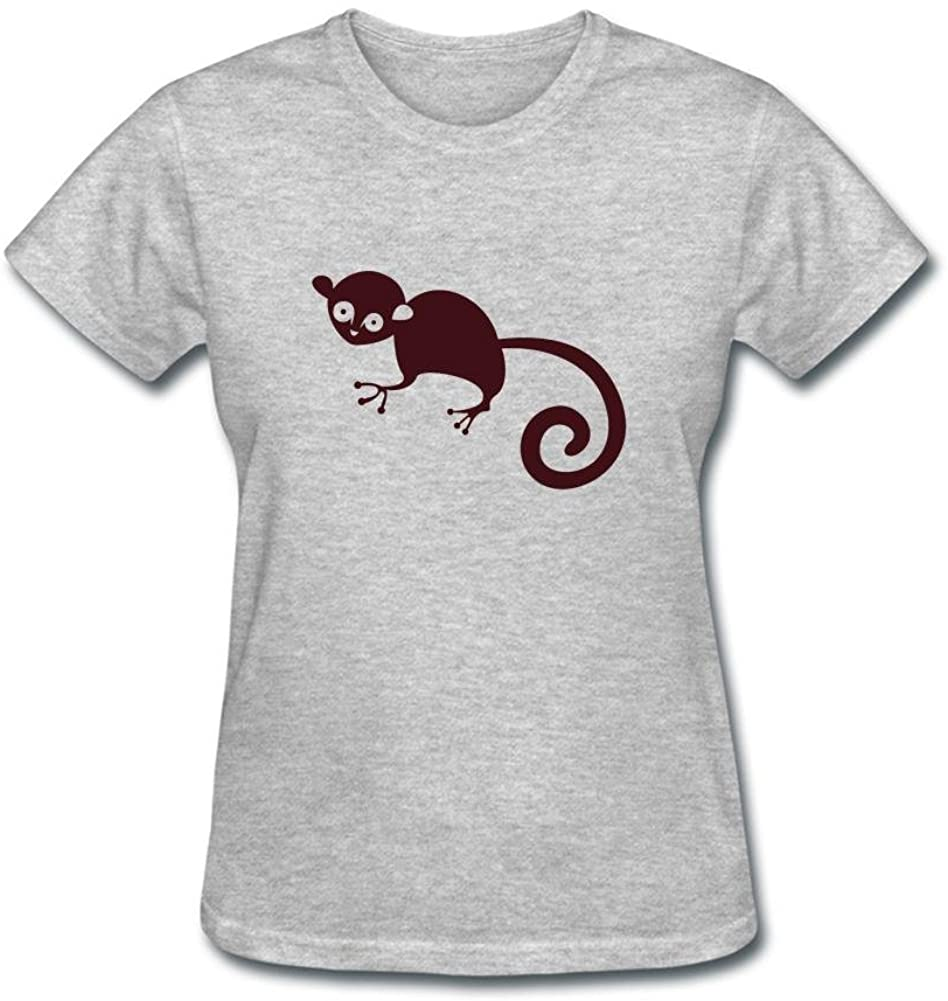 JustLikeSun Women's African Animal Monkey T Shirt