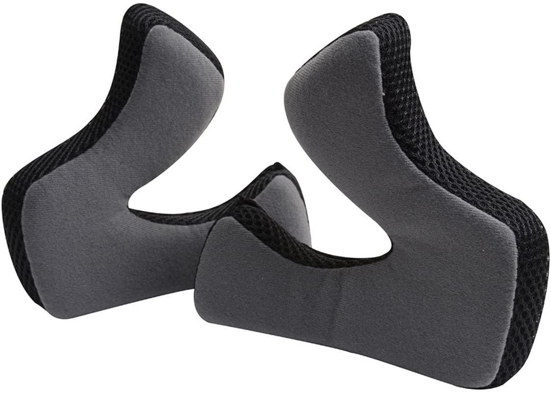 Troy Lee Designs Cheek Pads For AIR Helmets - Large 15mm Black