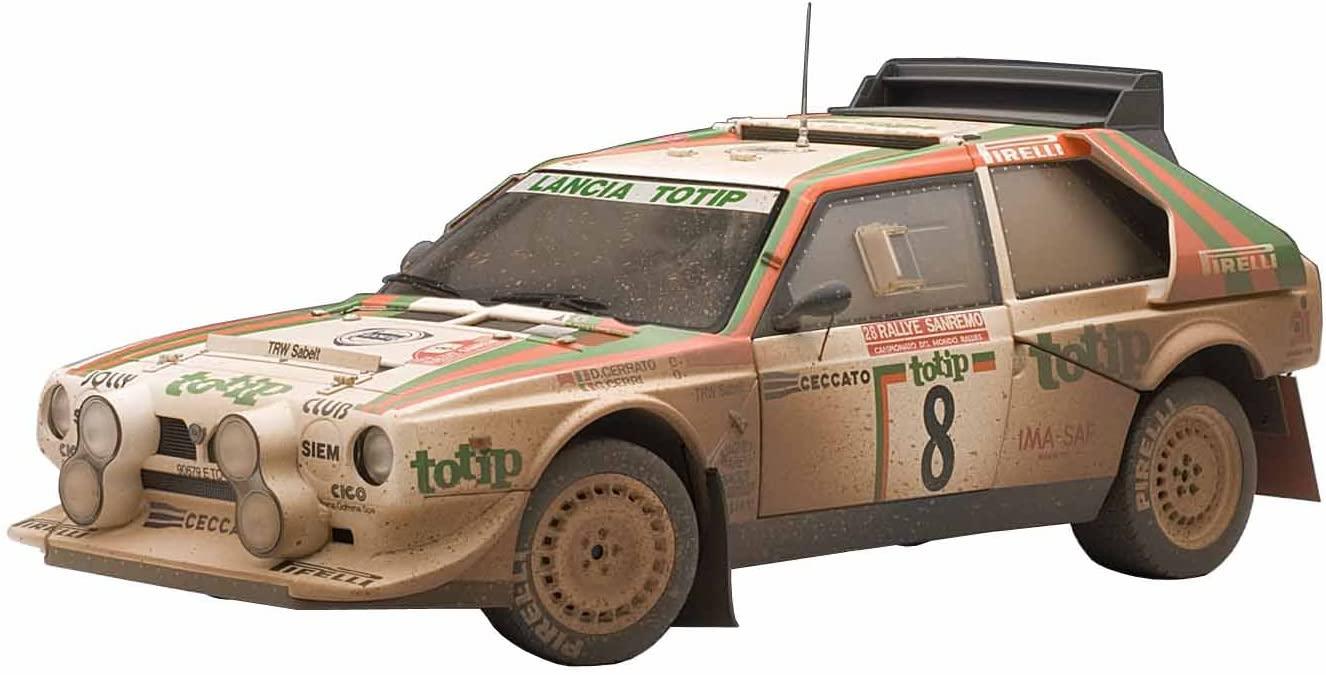 AUTOart 88619 1/18 - Signature: Lancia S4 Rally San Remo 1986 Cerrato/Cerri #8, Mudd