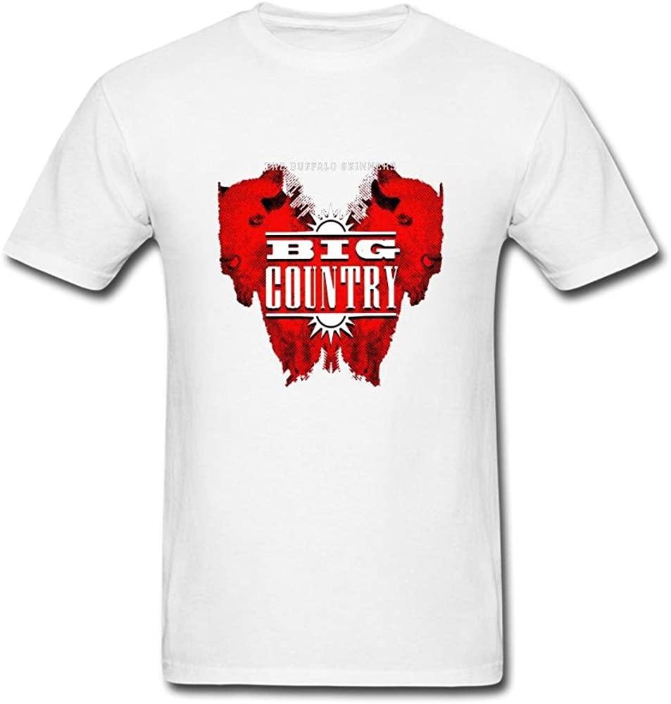FSCYHX Men's T-Shirts Big Country The Journey John Waynes Dream
