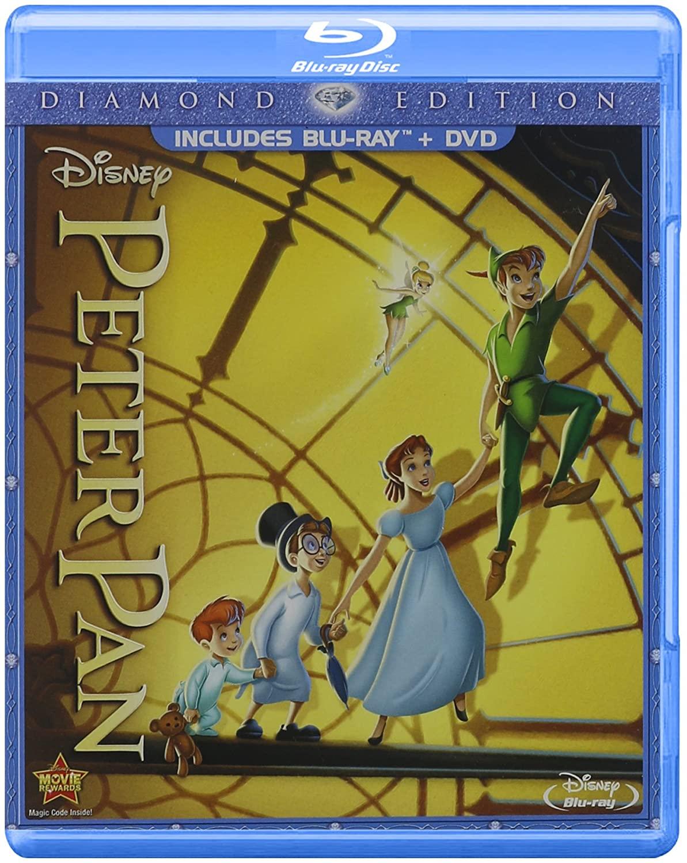 Peter Pan (Two-Disc Diamond Edition Blu-ray/DVD Combo in Blu-ray Packaging)