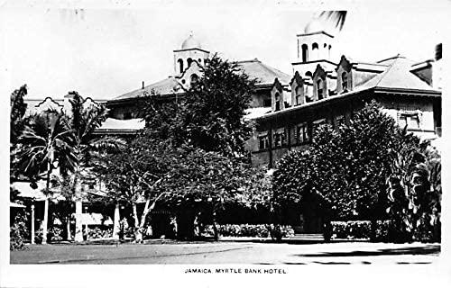 Jamaica, Jamaique Old Vintage Antique Myrtle Bank Hotel Writing on back