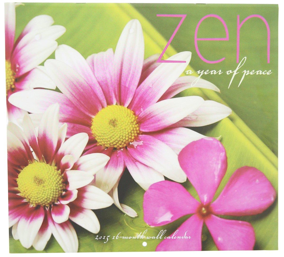 1 X 2015 Zen 12x11 Vista Wall Calendar