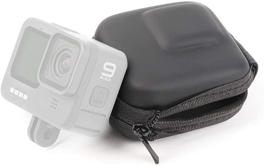 Mini EVA Storage Protective Case Box for GoPro HERO9 Black / HERO8 Black /7/6/5 Reliable (Color : Black)