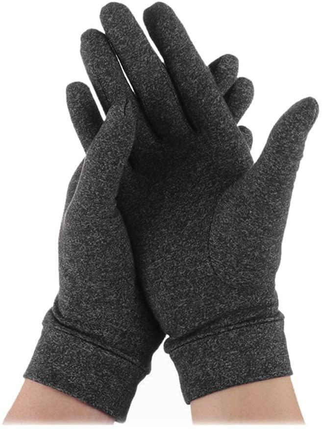 ARRIVEOK Pain Relief Arthritis Gloves Full Finger Health Compression Rheumatoid Wrist Support Brace Joint Care Finger for Men and Women