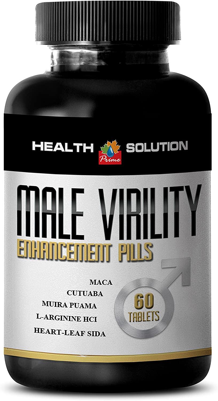 Maca Supplement - Male Virility 1300MG - Support Male Fertility (1 Bottle)