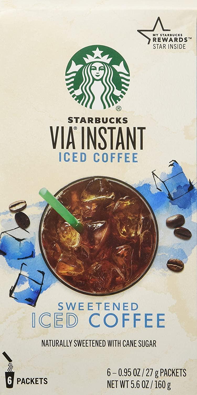 Starbucks Via Iced Coffee 6Pk