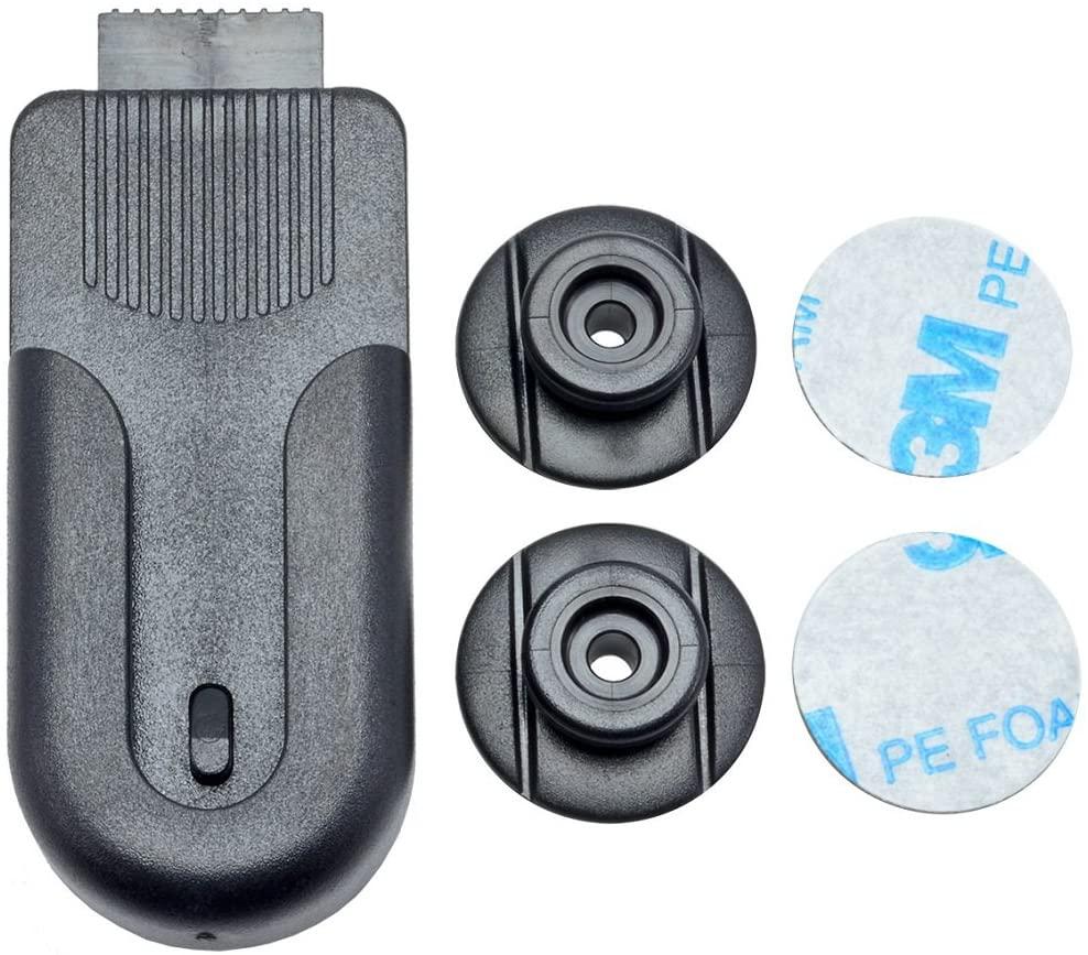 Arkon Universal Swivel Belt Clip Holder for Smartphones Cameras Radios Walkie Talkies Remotes, Black - CM221