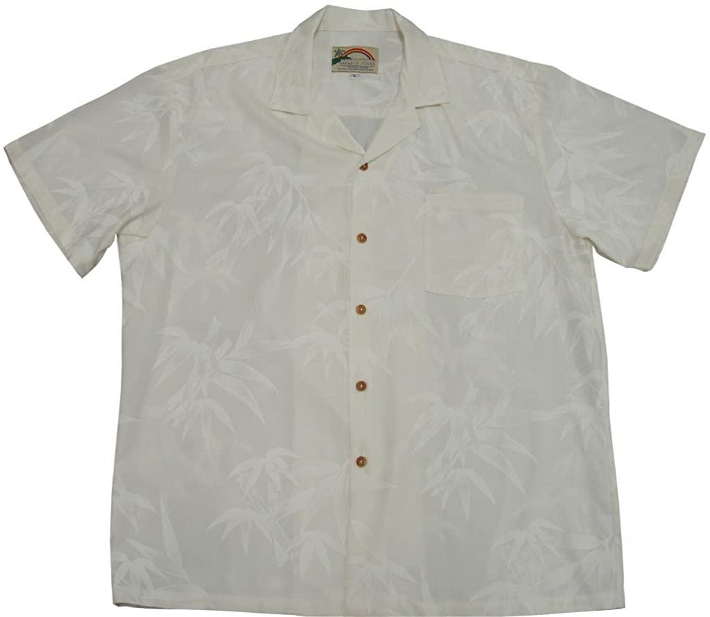 Bamboo Hawaiian Shirts - Mens Hawaiian Shirts - Aloha Shirt - Hawaiian Clothing
