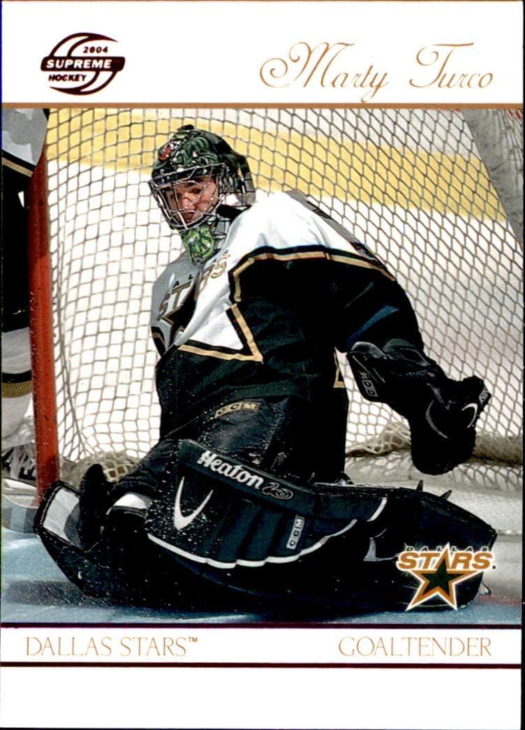 2003-04 Pacific Supreme RED #31 Marty Turco DALLAS STARS NHL Hockey Card
