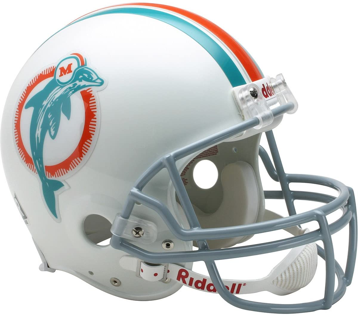 Riddell Miami Dolphins 1973-1979 Authentic Throwback Helmet