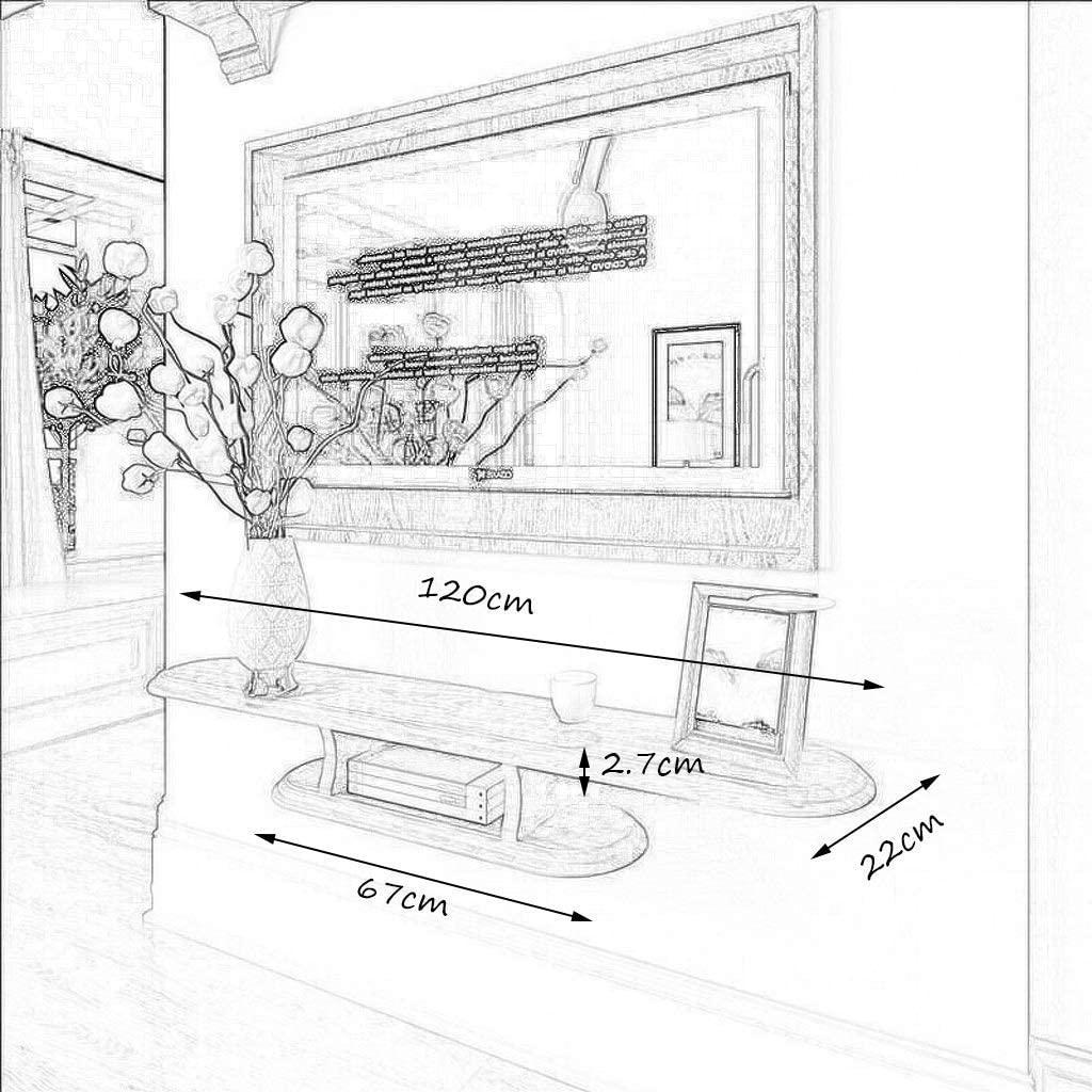 Tv Cabinet Shelf Set-Top Box WiFi Router Shelf Tv Rack Wall-Mounted Tv Cabinet Wall Shelf Floating Shelf Set Cable Boxes Games Consoles, Yue QiSong