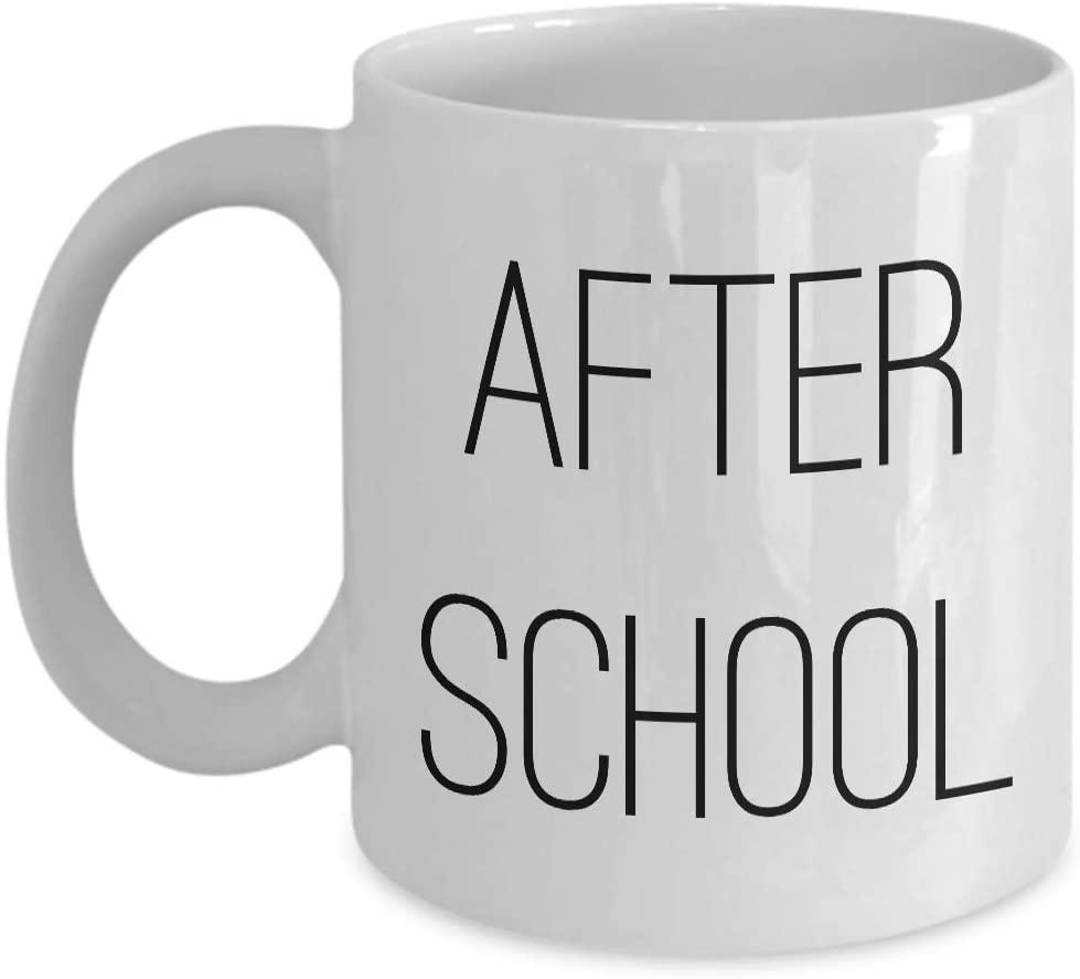 Teacher Coffee Mug - After School - Funny Profession Job Scool Appreciation Student Teaching Educator Wise Wisdom Educator Education
