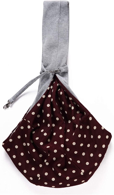 FUNNY DAY Pet Bag One-Shoulder Pet Backpack Diagonal Bag Breathable Dog Backpack Outing pet Bag Carrying Bag