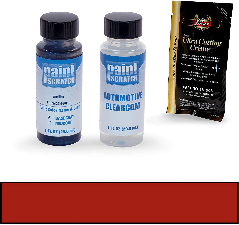 PAINTSCRATCH Touch Up Paint Bottle Car Scratch Repair Kit - Compatible with Ford Expedition Vermillion (Color Code: F1)