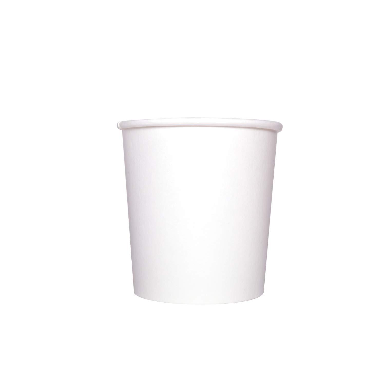 Karat FP-GFC16W 16 oz. Gourmet Food Container - White (Case of 500)