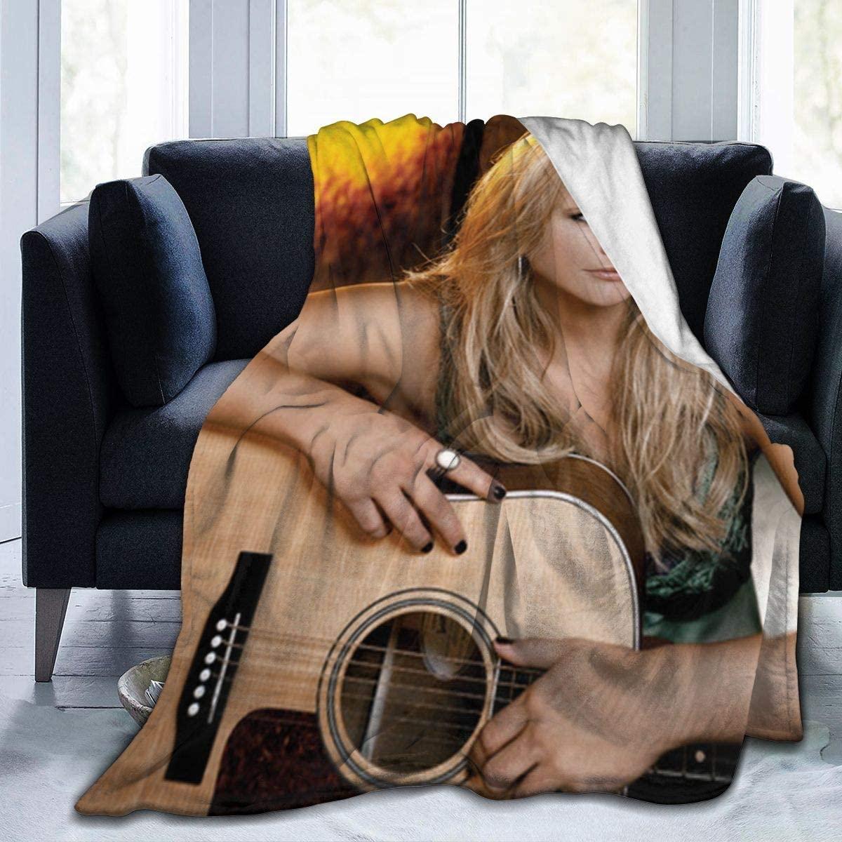 ThomasCGaona Miranda Lambert Queen Size Soft Micro Fleece Blanket,Super Warm,Luxury,Lightweight,Fuzzy,Fleece Blanket All Season for Couch,Sofa,Bed Blanket 50