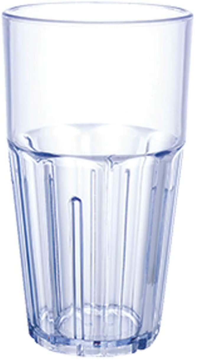Havana Tumbler 16 oz. ribbed Winco PTSN-16 NEW