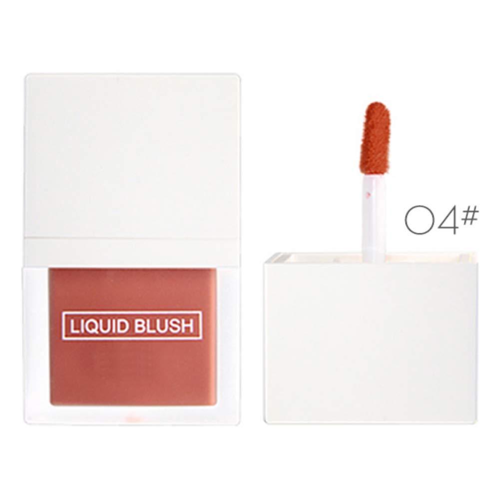 Ofanyia Liquid Blush Moisturizing Waterproof Brighten Skin Color Long-Lasting Shiny Face Blusher