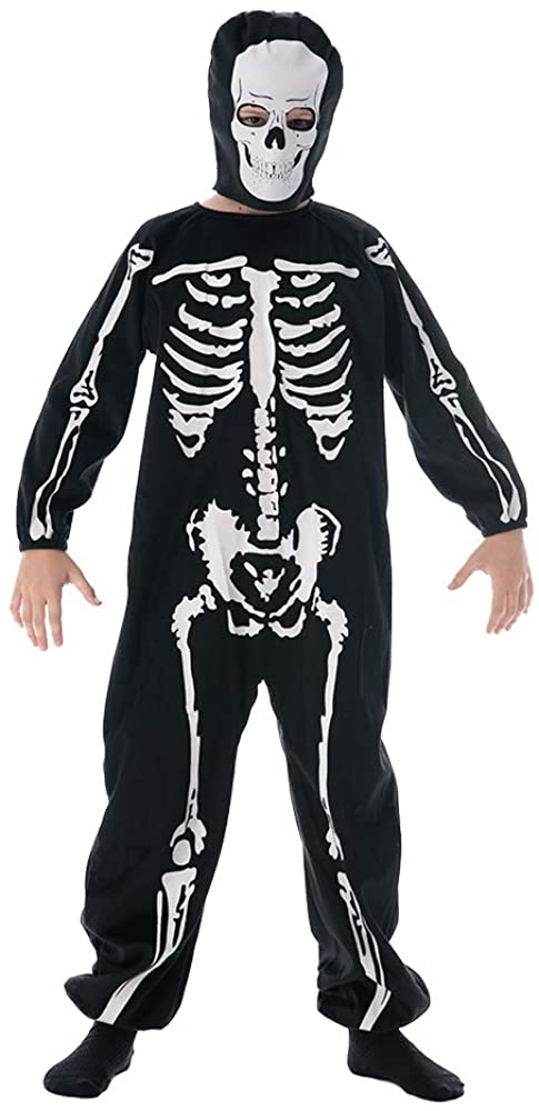 EraSpooky Halloween Boys Skeleton Onesie with Mask