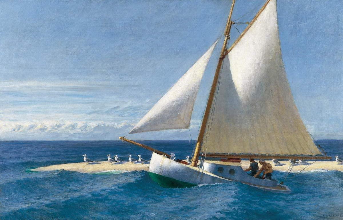 Edward Hopper Giclee Canvas Print Paintings Poster Reproduction (The Martha McKeen of Wellfleet)