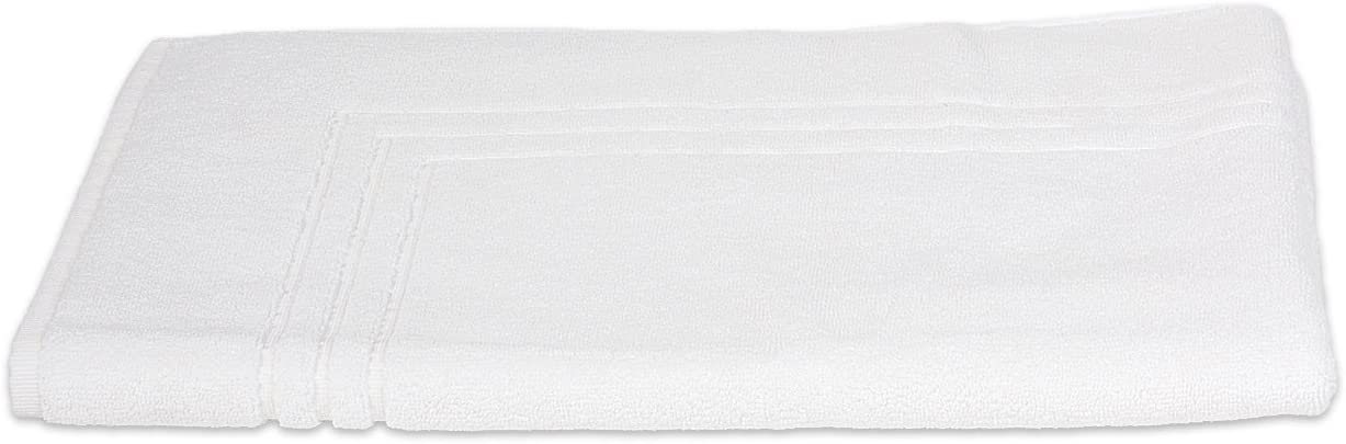TowelSelections Pearl Collection Luxury Soft Towels – 100% Turkish Cotton, Made in Turkey, White, Bath Mat