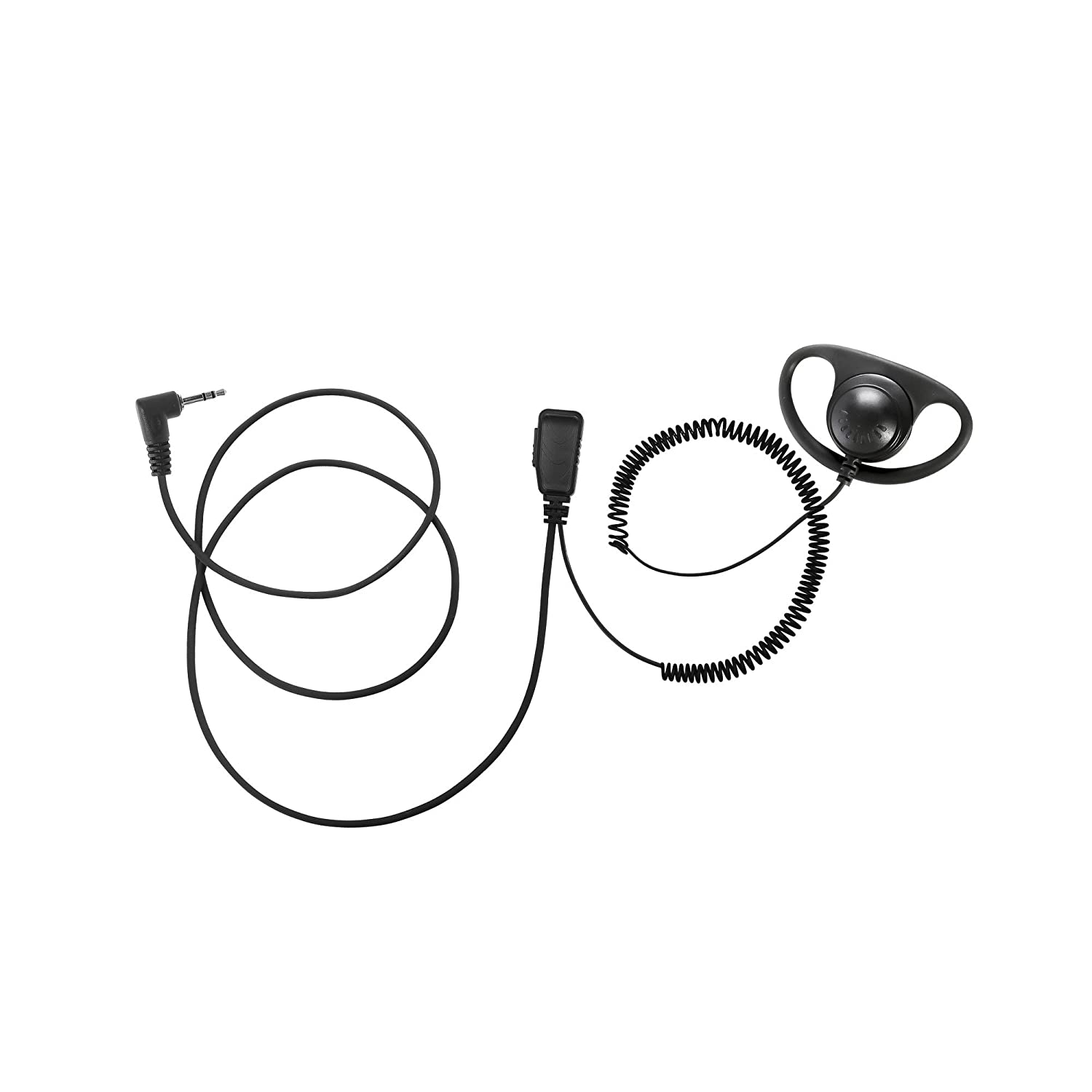 BOMMEOW BDS15-M2 D Shape Earhanger D-Style Earpiece for Motorola Talkabout TLKR T3 T60 T5512 MR350R T41
