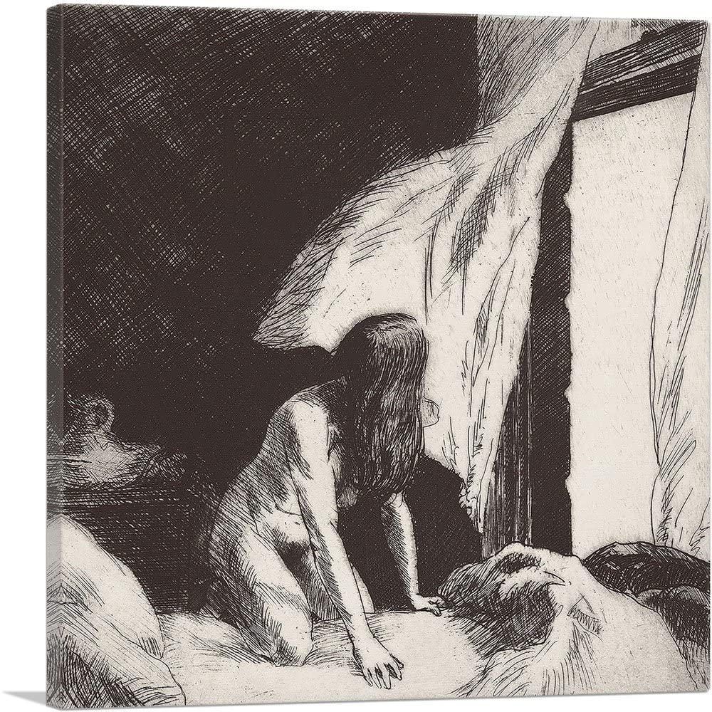 ARTCANVAS Evening Wind 1921 Canvas Art Print by Edward Hopper - 26