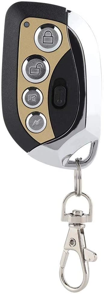 Mootea 433MHz Universal Copy Remote Controller Garage Door Opener Security Cloning Key Lock