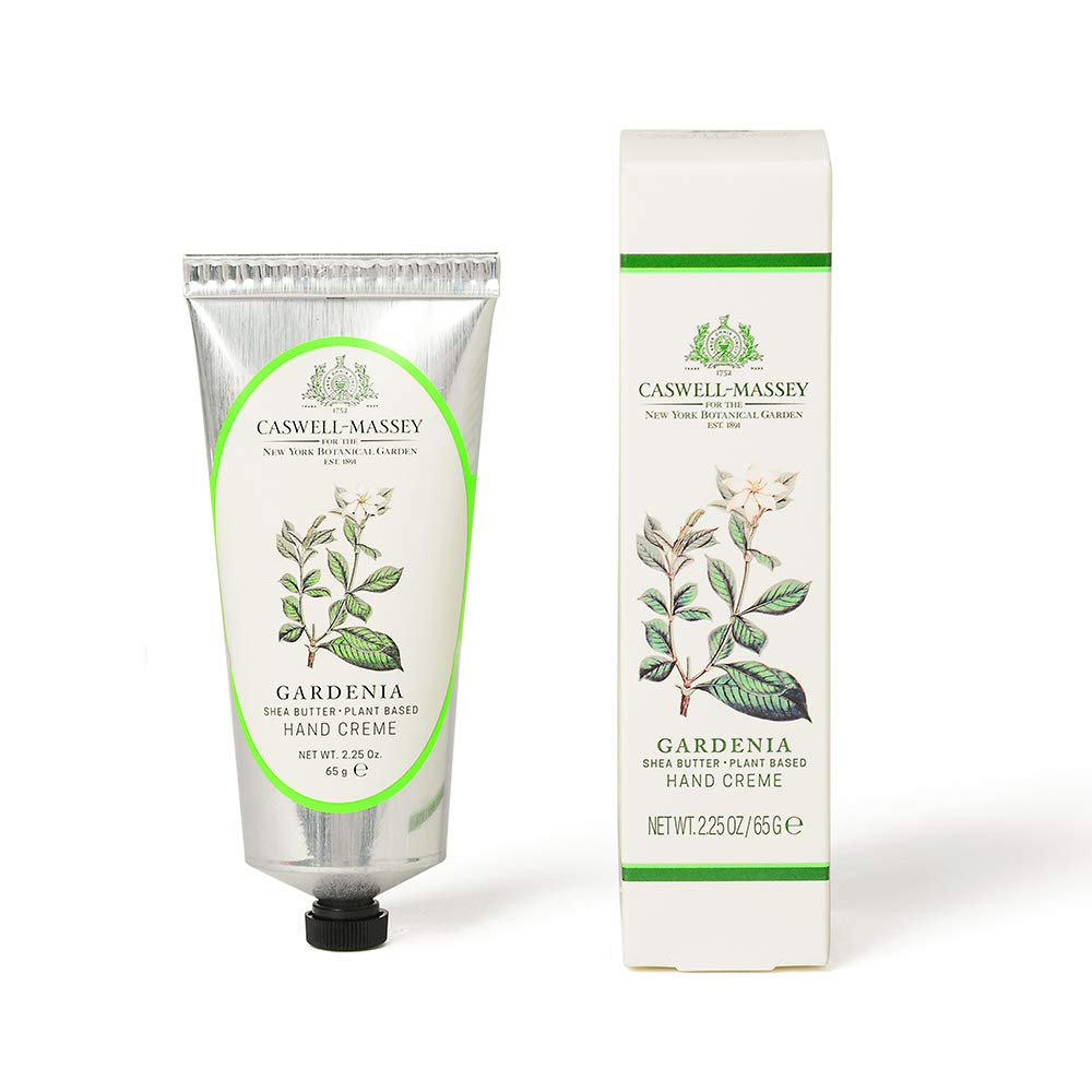 Caswell-Massey Gardenia Based Hand Cream 2.5 oz – NYBG Collection Hand Moisturizer – Made In USA