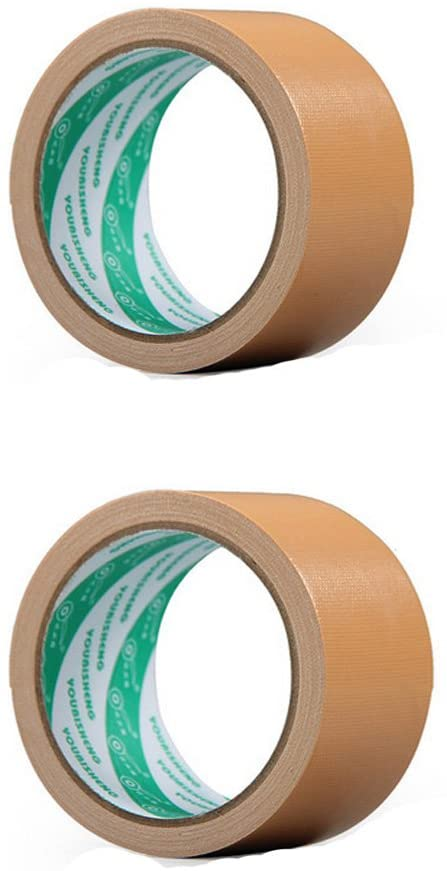 Set of 2 Carpet Tape/Floor Tape/Electrical Tape / 2 in X 11 Yd, H