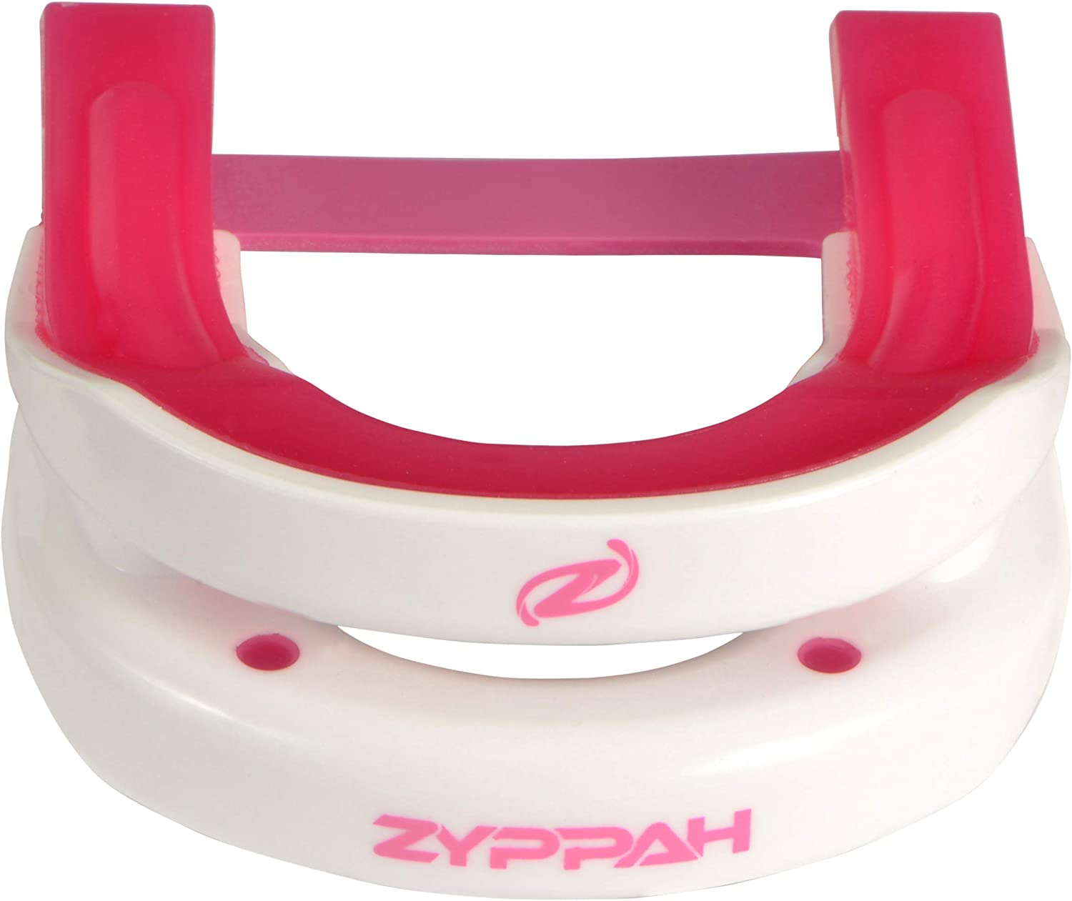 ZYPPAH Anti Snoring Hybrid Oral Appliance Mouthpiece Stop Snoring Sleep Aid Solution Snore Stopper Mouth Guard Device - Made in USA, FDA Cleared - Pink