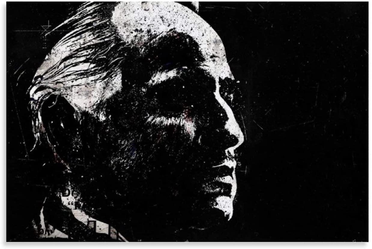 Salvatore Corsitto The Godfather Marlon Brando Francis Movie Poster Vito Corleone1 Classic Movie Canvas Art Poster and Wall Art Picture Print Modern Family bedroom Decor Posters 12x18inch(30x45cm)
